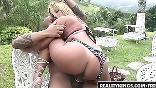 RealityKings - Mike in Brazil - (Diana Cadilac, Jamaica) - Sexy Refreshness