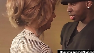 Hot Mature Cougar Deauxma Gets Drilled By A Big Negro Cock!