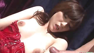 Strong toy sex along insolent model Kanako Iioka - More at Japanesemamas com