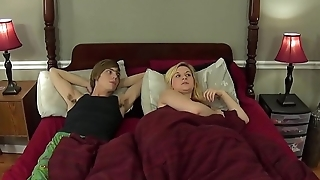 Fucking my sister - blonde sis Fifi Foxx with big natural tits
