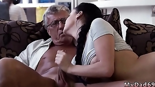 Old mom enjoys and teach me sex daddy What would you transform -