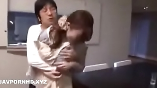 Jav hot materfamilias fucked by angry son