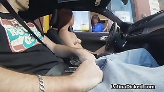 From topless drive through to hot fuck with gf
