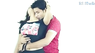 Part 1 - Pooja Hot Romance with Boyfriend elbow Roof