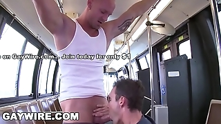 GAYWIRE - Mr. Clean Gets Mean On The Project City Tutor