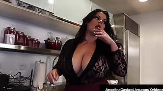 Hot BBW Angelina Castro Shares BF'_s Cock With Roberta Gemma!