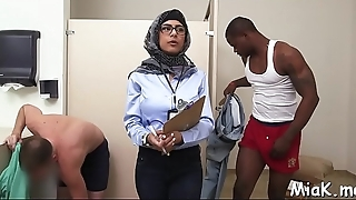 Nasty arab playgirl receives a rough fuck from her powerful stud