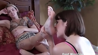 Please let me suck on your little toes