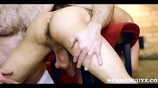 Latino Mormon Twink Disciplinary Action Fuck From Church Hotshot