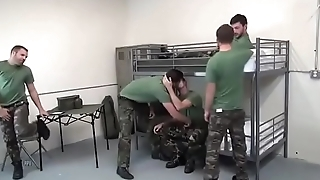 Gay sexy Army (Bareback)