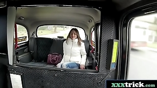 Horny French Fox Rachel Adjani Fucked By a Lucky Czech Driver