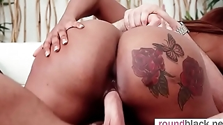 Moriah Mills ebony big round ass widely applicable with big boobs ride on big dick