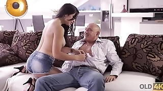 OLD4K. Hot latina chooses experienced men