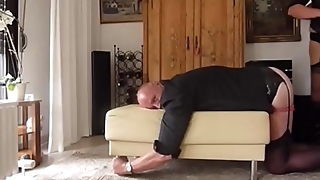 dwtbernd caned by his wife