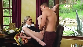 Young couple explores together amazing world of sex