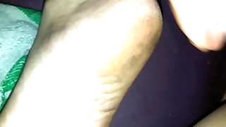 sleepy cum smelly soles of ma gf