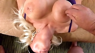 UPSIDE DOWN BLOWJOB WHILE HAVING LOUD SHAKING ORGASM Hither HITACHI ON OPEN PUSSY LONG LOUD ORGASM  see more blonde banditt at manyvids search blonde banditt see say no to best clips