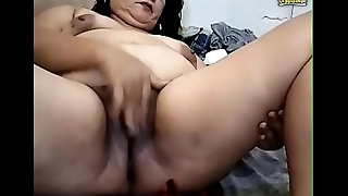 Dirty Pinay Granny Fingers Cunt Ass Squirts ATM Pees Vomits greater than Cam
